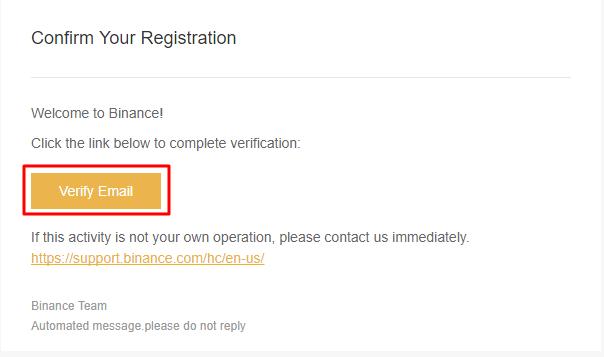 Xác thực email Binance. (Hình 5)
