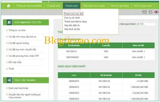 thanh-toan-hoa-don-Vietcombank-Internet-Banking