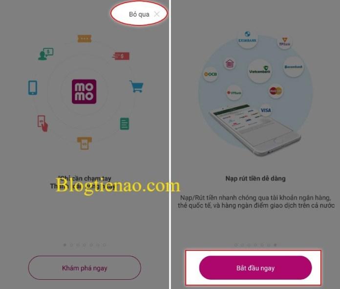 Hướng dẫn đăng ký tài khoản tại MOMO
