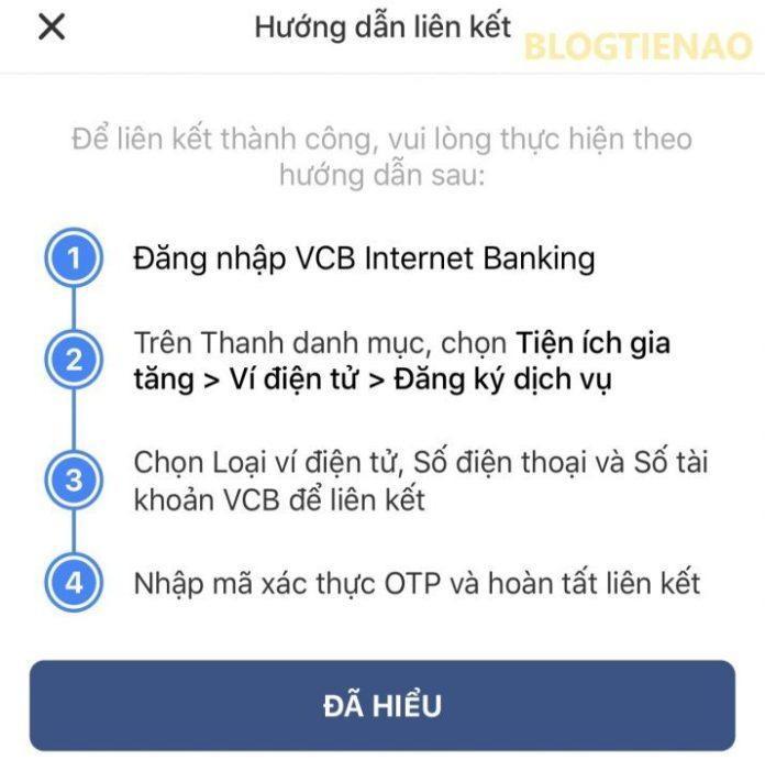 Hướng dẫn liên kết với ví VinID