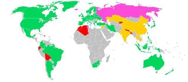 Tính hợp pháp của tiền ảo tại các quốc gia